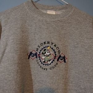 VTG Mickey Mouse Country Club Crewneck